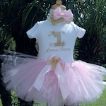 Pink and Gold 1st birthday baby girl outfit, twinkle twinkle little star 1st birthday outfit,one year old girl birthday outfit, shabby chic,