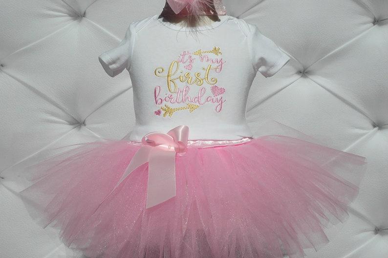 wild one birthday girl.It's my first birthday tutu image 0
