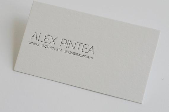 200 custom letterpress business cards etsy image 0 colourmoves
