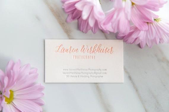 150 custom letterpress business cards etsy image 0 colourmoves