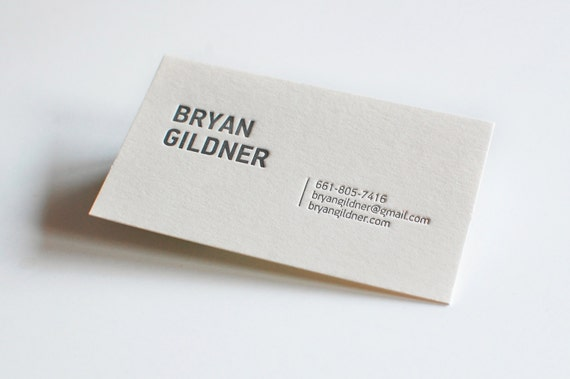 100 custom letterpress business cards etsy image 0 colourmoves