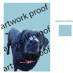 Listing for Shelia - Bella Dog Portrait Artwork