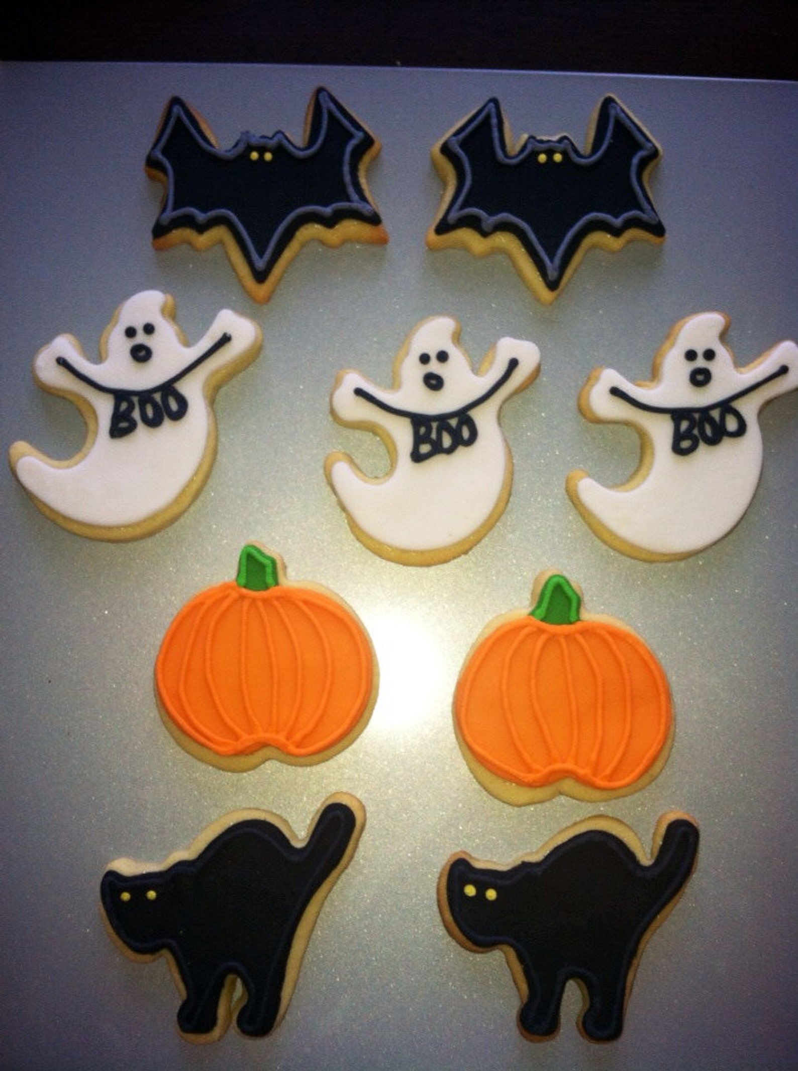 Halloween Cookies Page Two