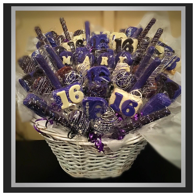 Sweet 16 Birthday Basket PICKUP Only Commack NY