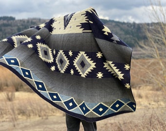 Southwestern Blanket | Boho Bedding