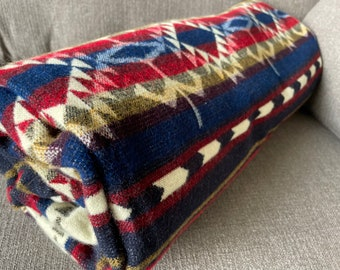 Alpaca Wool Blanket | Christmas Gift Idea | Hanukkah Gift Idea | Throw Blanket | Boho Decor Bedding | Alpaca Blanket Queen |