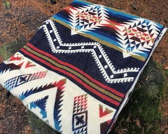 Christmas Gift Idea | Alpaca Wool Blanket | Throw Blanket | Boho Bedding | Picnic Blanket | Alpaca Blanket Queen | Native Blanket