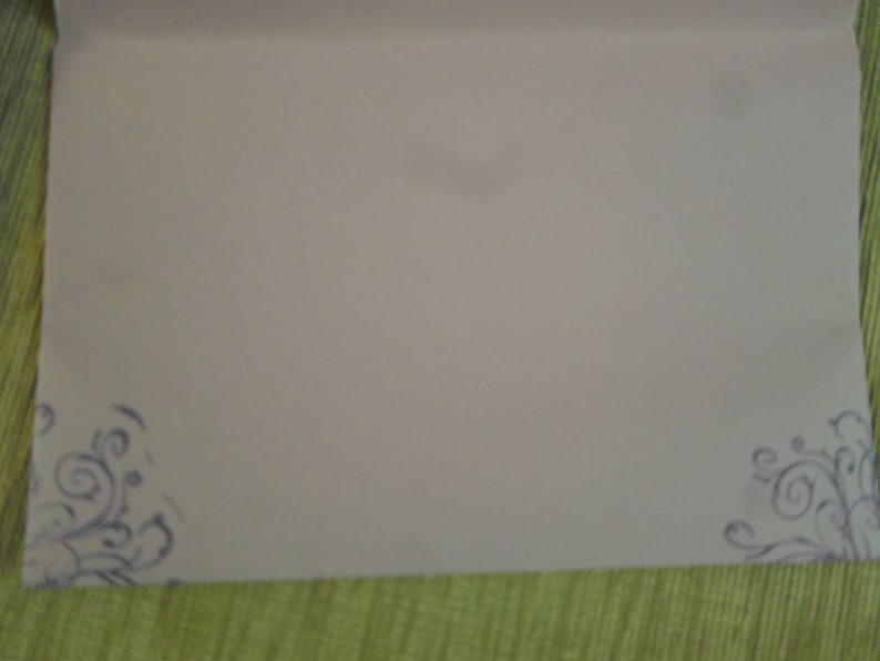 10 Thank You Notes with Envelopes Note Sheet 6.5 x 5