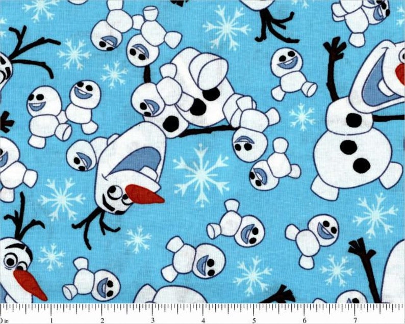 6c9a558741b86 Olaf toss Frozen Disney character licensed fabric Springs