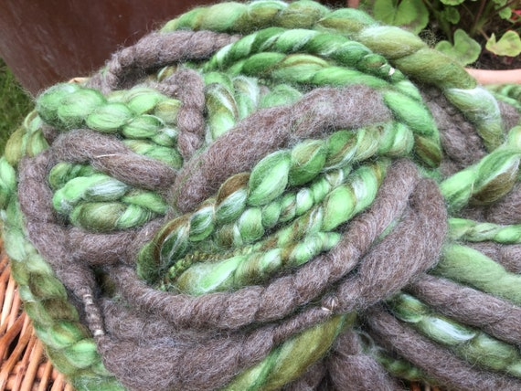arts crafts Plant yarn Handspun organic cactus yarn weaving yarn 5 yard mini