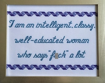 Classy Woman's Word Choice