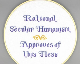Rational Secular Humanism Approves of this Mess