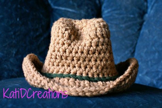 Kostenlose Muster Cowboyhut Neugeborenen Bilder Foto Prop Etsy