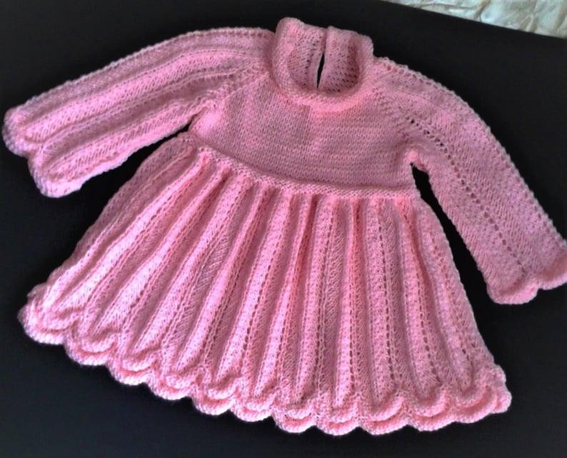 Knitted dress for girls \u0412\u044f\u0437\u0430\u043d\u043e\u0435 \u043f\u043b\u0430\u0442\u044c\u0435 \u0434\u043b\u044f \u0434\u0435\u0432\u043e\u0447\u043a\u0438
