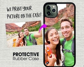 Custom Personalized Picture Photo Image Case Cover for Apple iPhone 11 / 11 Pro / 11 Pro Max / X XS Max / XR / 7 / 8 / 6 - Create Your Own