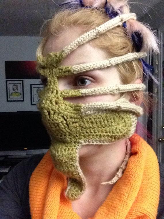 Xenomorph Alien Face Hugger Ski Mask Etsy