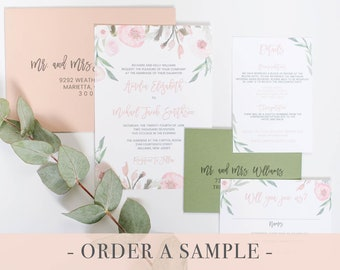 wedding invitation email sample