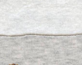 "58/"" Wide Sweatshirt Cotton Fleece Brown Fabric Sold BTY 13.6 OZ Per Yard"
