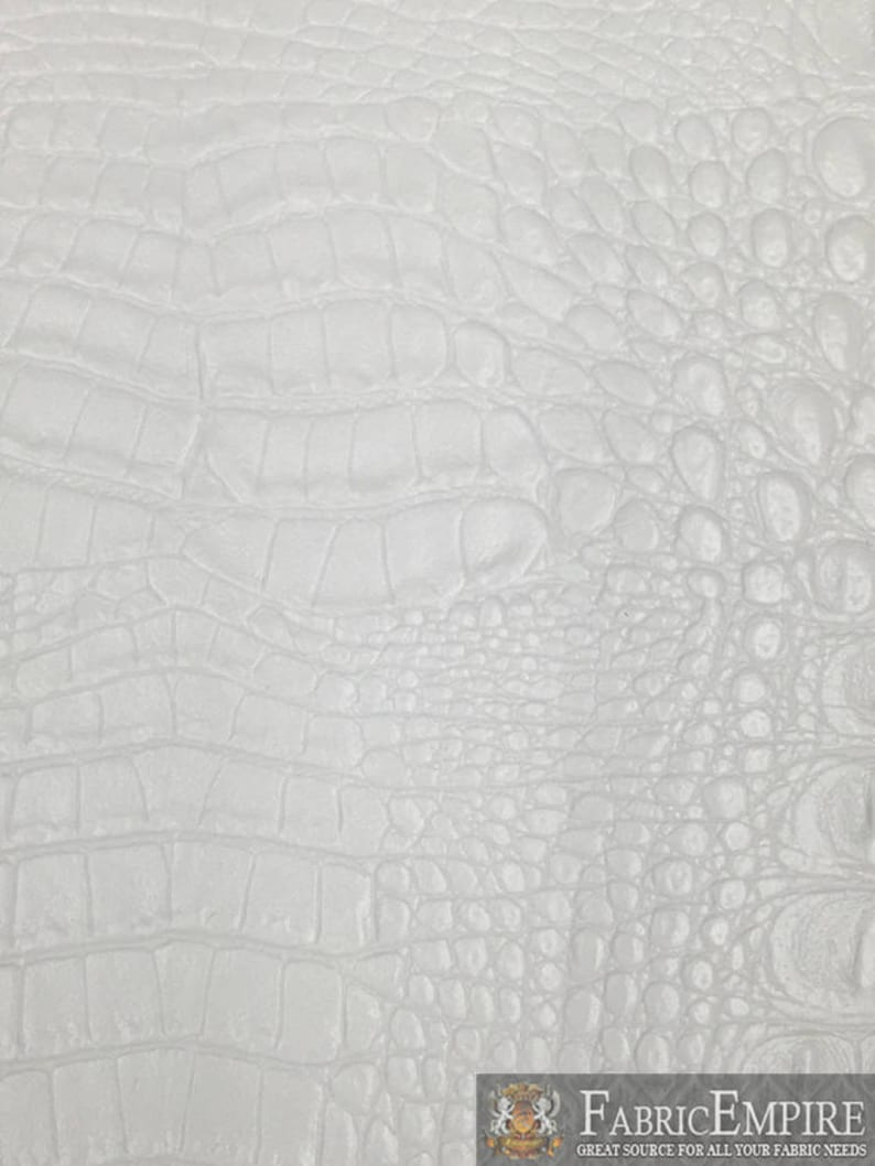 white crocodile wallpaper