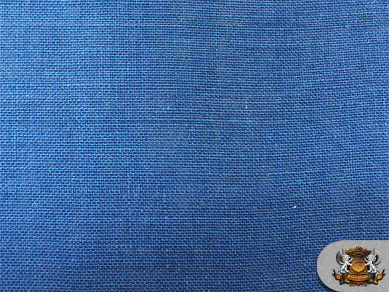 """58/"""" Sold by the yard Burlap Jute NAVY BLUE Fabric"""