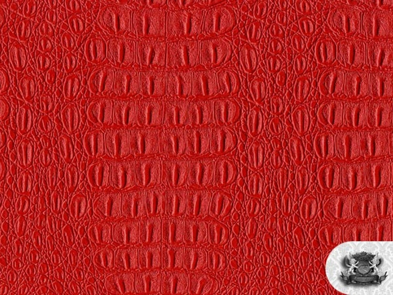 """54/"""" Wide// sold by the yard Vinyl Denali RED Fabric"""