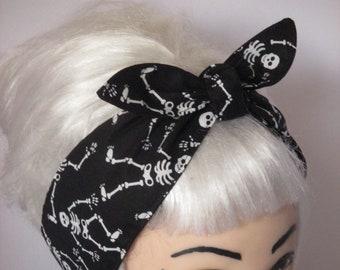 d3d60555579 Skull head wrap   Etsy
