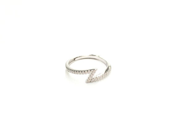 Sterling Silver Woman/'s Unique Butterfly Ring Unique 925 Band 9mm Sizes 3-13
