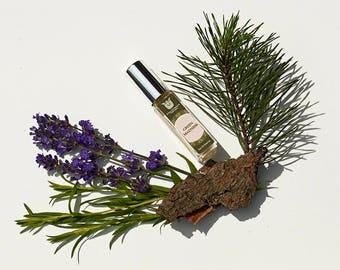 Green madness -Natural eau de perfume, Fresh and green, with lemon,yuzu, wormwood, tarragon, blackcurrant, lavender, vetiver, oakmoss,Flacon