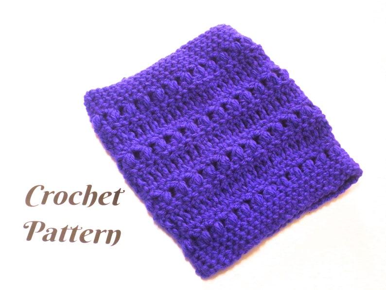 Dog Crochet Pattern Snood Scarf Neckwarmer Pattern Crochet Etsy
