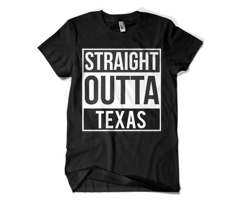 low priced 31f00 44c2c Straight outta Texas parody shirt Funny All states Dallas Cowboys Houston  Texans Mavericks Astros Rangers Spurs Rockets