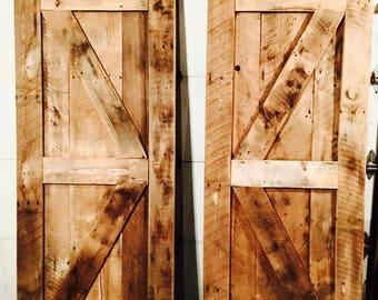 Rustic Reclaimed Barnwood Doors