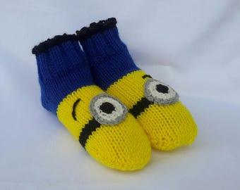 Minion Socken Etsy
