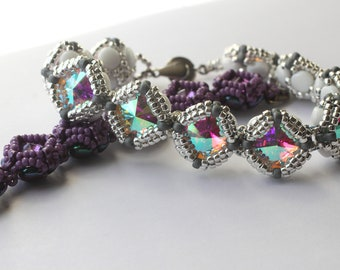 Diamond Rivoli Cup Chain Bracelet Tutorial