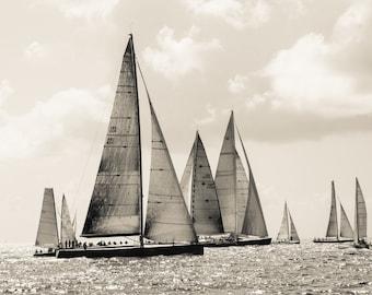 Sailboat photography, sailboat art, sailboat decor, beach decor, beach art, beach print, nautical decor, nautical art, nautical photo