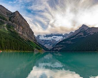 Lake Louise, Banff National Park, Alberta, Canada, canadian rockies, mountain art, mountain photography, nature, lake art, lake decor