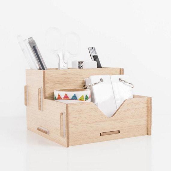 diy holz pen halter hand gemacht schreibtisch organizer stift etsy. Black Bedroom Furniture Sets. Home Design Ideas