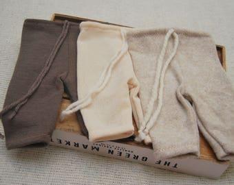 Newborn Boy Pants, Newborn Pants Prop, Baby Boy Pants, Newborn Photo Prop, Knit Pants, Neutral Props, Baby Boy Outfit, Newborn Props