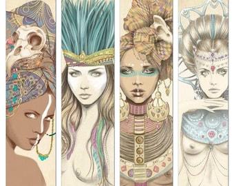 Poker playing cards designed by Marisa Jimenez artist