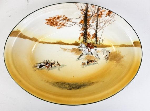 Royal Doulton Coaching Days 10 Dinner Plate Bone China E3804 111