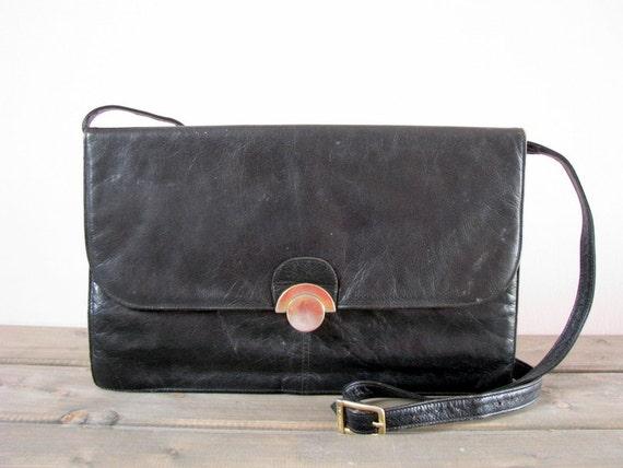sélection premium 605f6 b5e21 Cuir italien PICARD sac cuir bandoulière sac bandoulière en cuir besace  cartable en cuir sac à main sac de bureau d'affaires