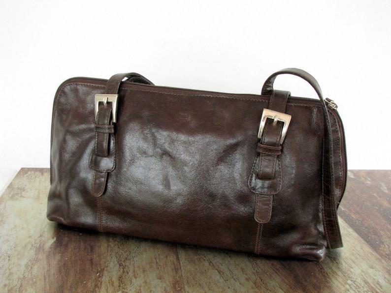 Leder Handtasche Skandinavischen Braun Der Monte Etsy wq56PC5