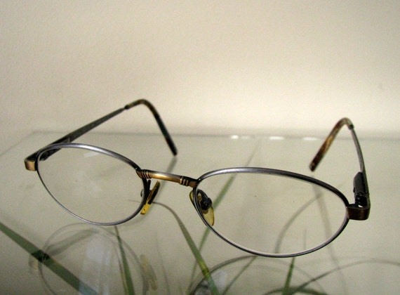 Swedish vintage eyeglasses by SALMING Frame Sweden Metal frame | Etsy