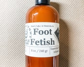 Foot Fetish, cooling foot lotion, peppermint, tea tree, lavender, epsom salt, natural foot lotion, anti-microbial, foot care, menthol, pedi