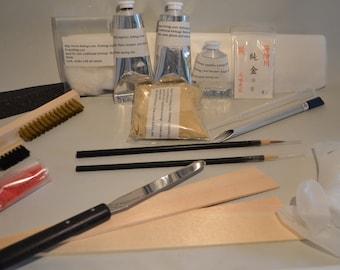 Online kintsugi workshop, private workshop.