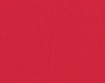 Scarlet - Bella Solid by Moda, 1/2 yard, 9900 47