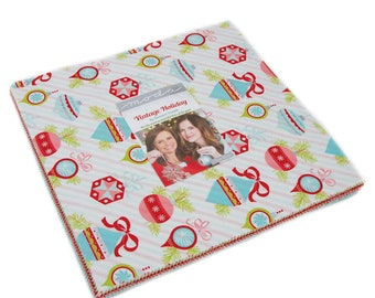 """Vintage Holiday Layer Cake by Bonnie and Camille for Moda, 42 - 10"""" squares"""