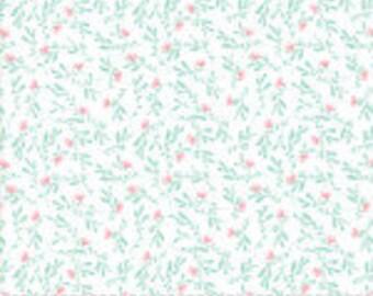 Gypsy Soul Wild Clear Water, by Basic Grey for Moda Fabrics, 1/2 yd cut, low volume, floral, 30625 20