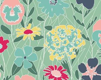 Curiosities - Splendiferous Chill by Jeni Baker for Art Gallery Fabrics, 1/2 yard, CUR-29130