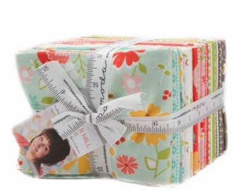 """Flower Mill Fat Quarter Bundle by Corey Yoder of Little Miss Shabby for Moda, 36 - 18"""" x 22"""" cuts"""