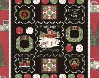 """Time to Decorate Quilt Kit, measures 52"""" x 66"""""""
